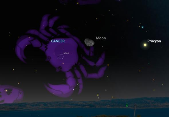 """Звездният куп """"Ясли"""", още известен като M44, ще бъде в близост до луната на 18 ноември"""