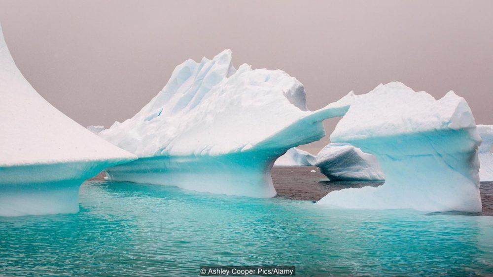 Топенето не ледовете създава много шум в океана. Credit: Ashley Cooper Pics/Alamy