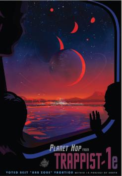Какво би било, ако посетим TRAPPIST-1e. Credits: NASA/JPL-Caltech