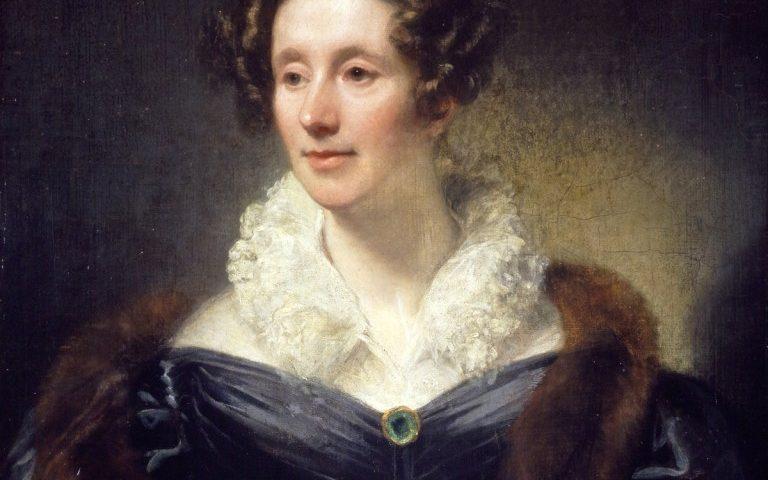 Mary Somerville (портрет от Thomas Phillips)