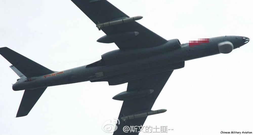 Air Delivery. H-6M бомбардировач може да носи две крилати ракети DH-10  (или стартиращия от въздуха вариант KD-20), което дава на Китай стратегическа способност за удар, преди притежавана само от САЩ и Русия. По-новият H-6K може да носи 7 KD-20, докато планираният H-X безшумен бомбардировач вероятно ще може да носи поне дузина крилати ракети. Credit: Chinese Military Aviation