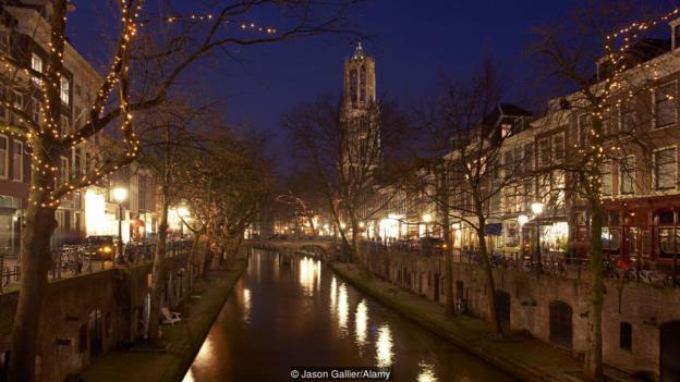 Град Утрехт, Холандия. Credit: Jason Gallier/Alamy