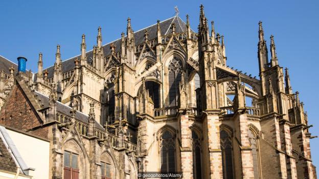 """Катедралата """"Св. Мартин"""" в Утрехт, Холандия. Credit: geogphotos/Alamy"""