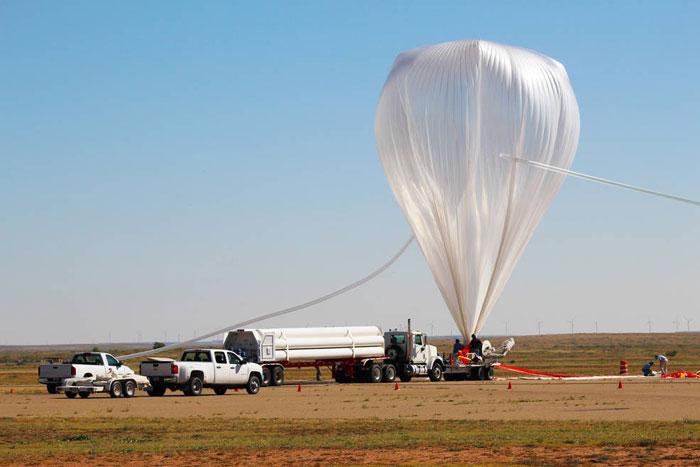 Научен изследователски балон. Credit: NASA/Christina Khodadad