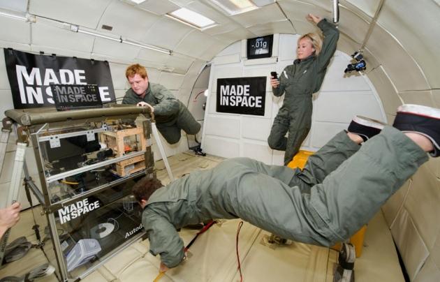 НАСА изпраща 3D принтер в космоса