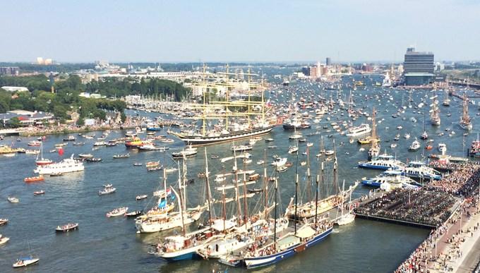 Видео от морското събитие SAIL Amsterdam 2015