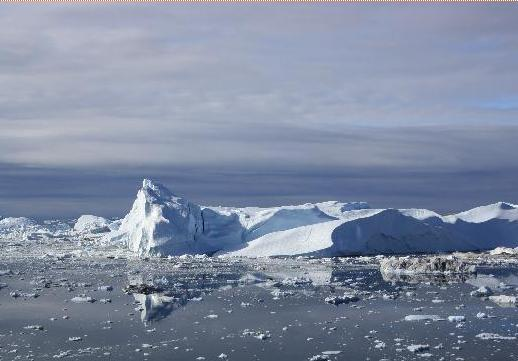 Темпът на топенето на леда в Гренландия необикновено висок