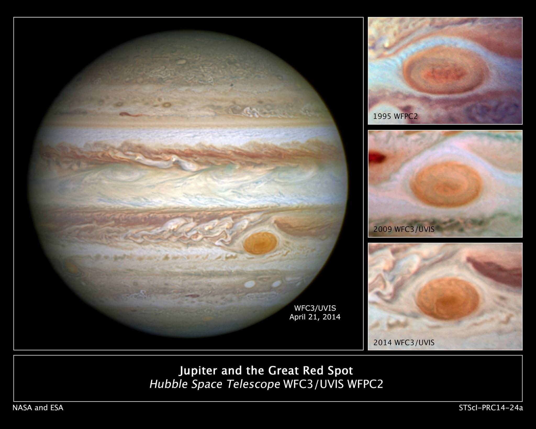 Червеното петно на Юпитер