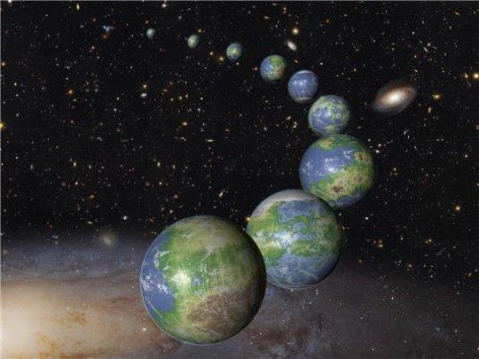 Земята се е появила сред най-ранните планети във Вселената