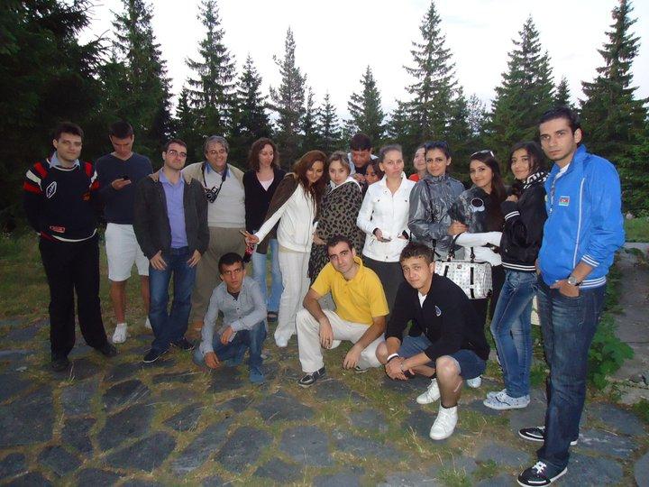 Центърът за български език и култура към университет в Баку на гости в България