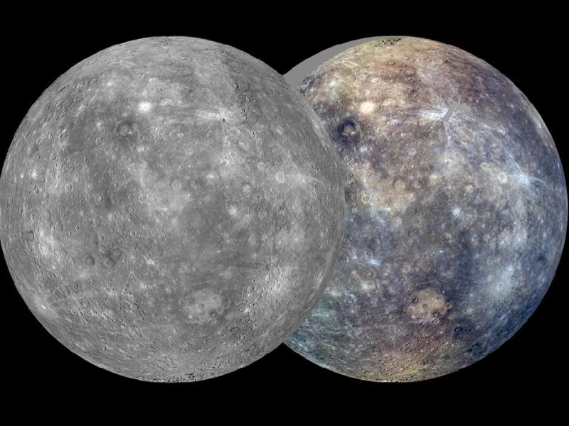 На Меркурий може би е имало древен океан от магма: огромни потоци от лава може би са причината за оформянето на два различни типа скали