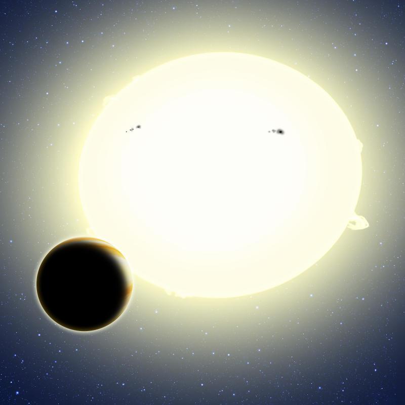 Астрономи засичат планета, използвайки теорията на относителността на Айнщайн
