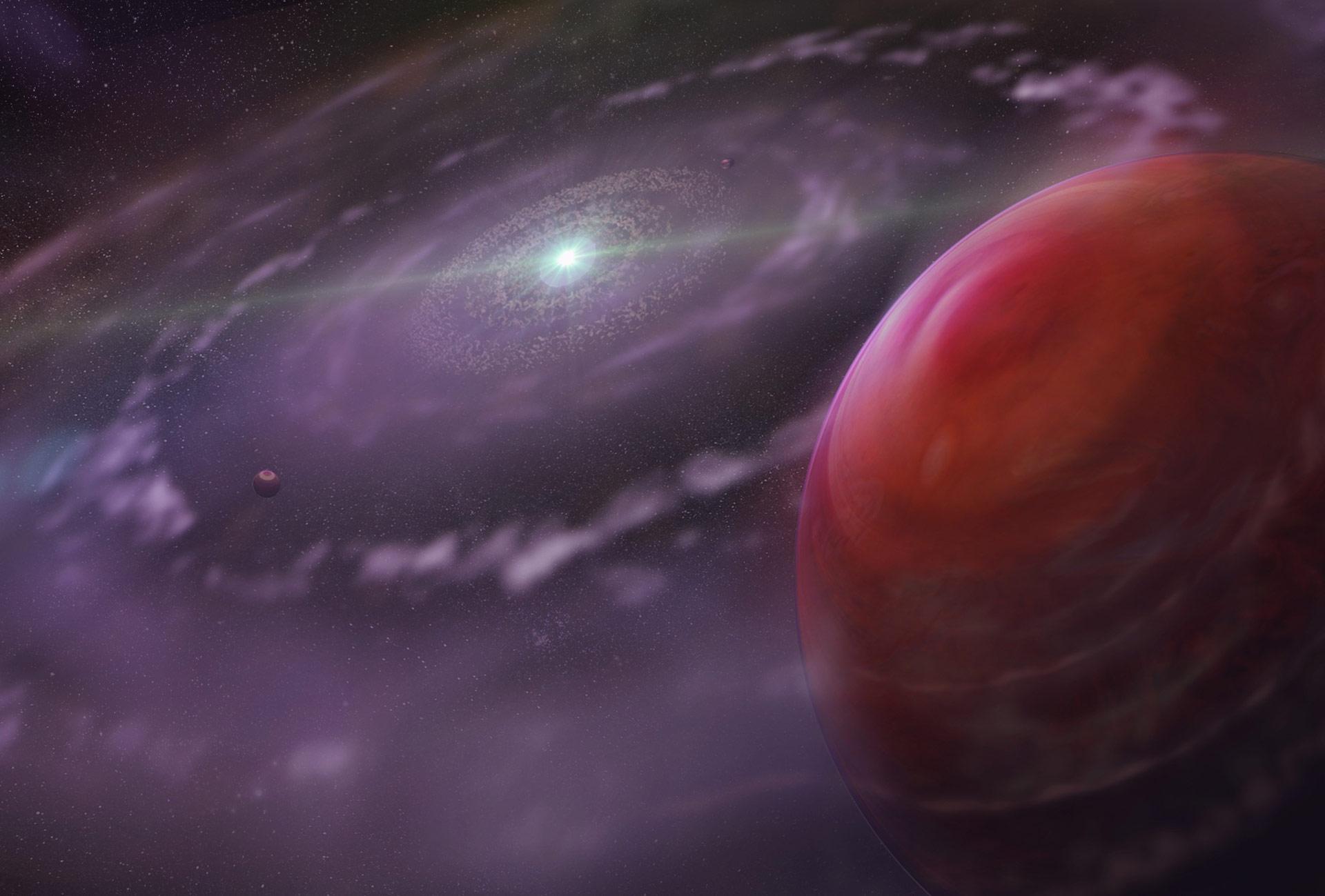 Изследователи наблюдаваха атмосферата на планета подобна на Юпитер отвъд нашата Соларна система.