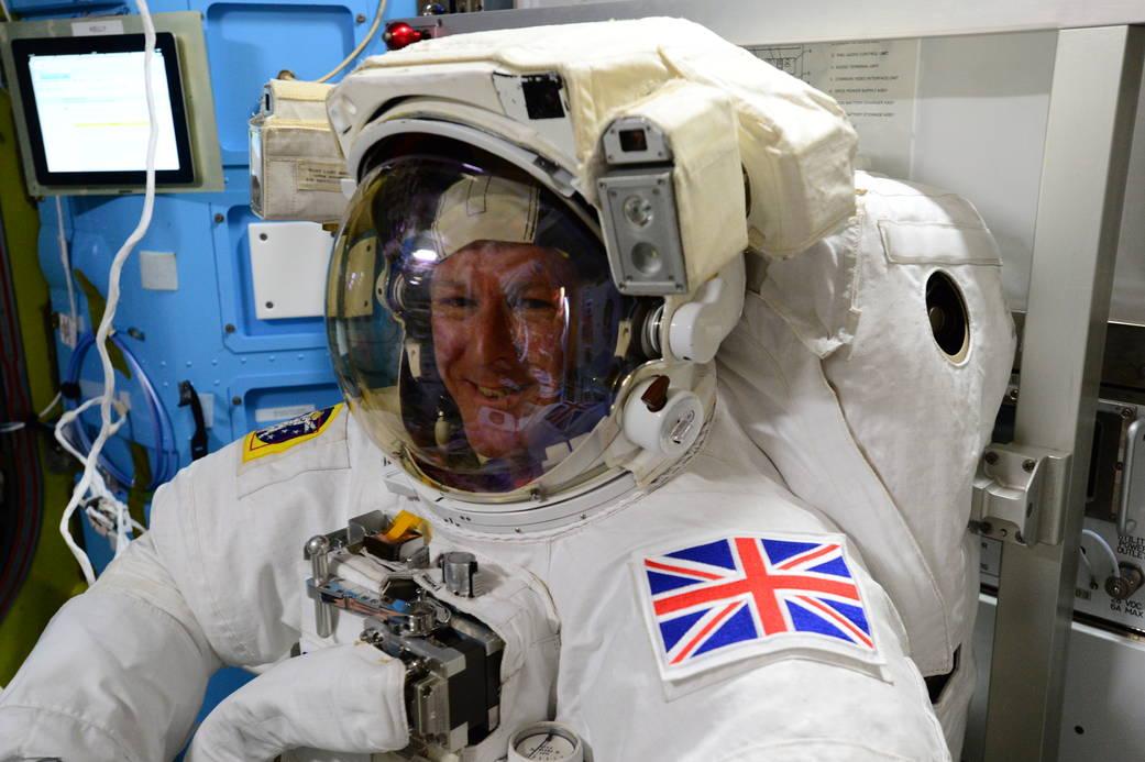15.01.2016 - първа космическа разходка за годината!