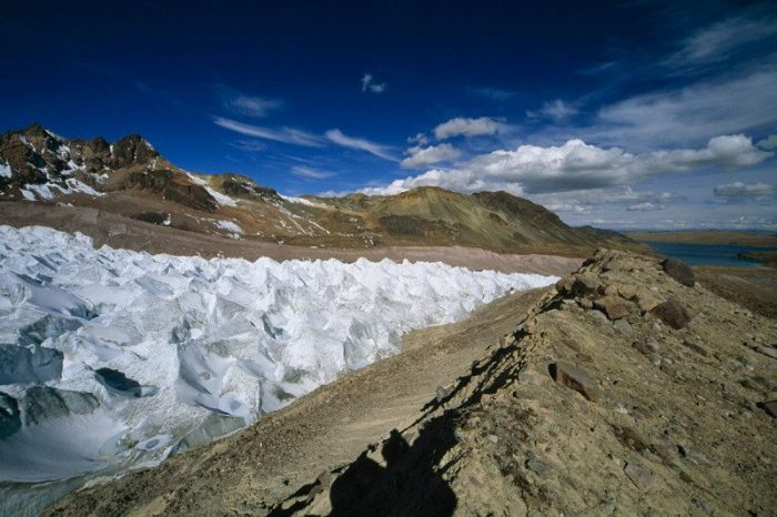 Ледниците на Древните Анди са загубили половината от леда си за последните 40 години
