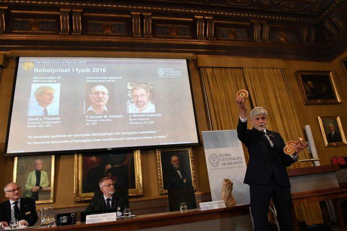 Нобеловата награда за физика отиде при откривателите на света на особената материя