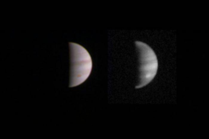 Джуно ще направи своето първо сближаване с Юпитер тази събота, на 27 август!