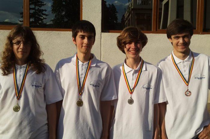 Олимпийският отбор по информатика бележи нови успехи на Централноевропейската олимпиада с 2 златни, 1 сребърен и 1 бронзов медал