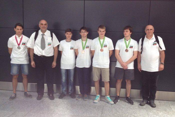 Пет отличия за българския олимпийски отбор по физика на Международната олимпиада в Швейцария
