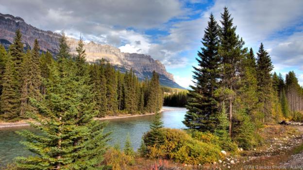 Bow River Valley, Banff National Park, Alberta, Canada