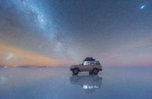 Впечатляващи кадри на Млечния път в Боливия