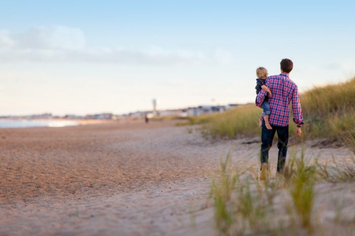 Бащата играе важна роля за здравето на децата си