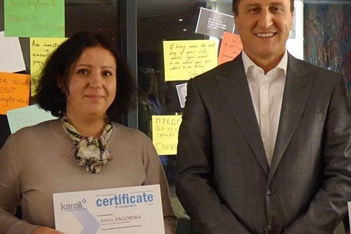 Докторант от Медицинския университет спечели стипендията на Карол