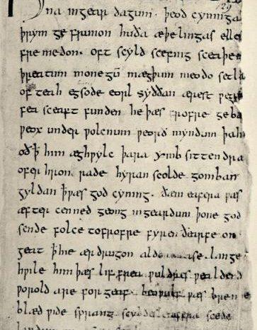 """1000-годишен ръкопис на англосаксонската епическа поема """"Беоулф"""" е дигитализиран и достъпен онлайн"""
