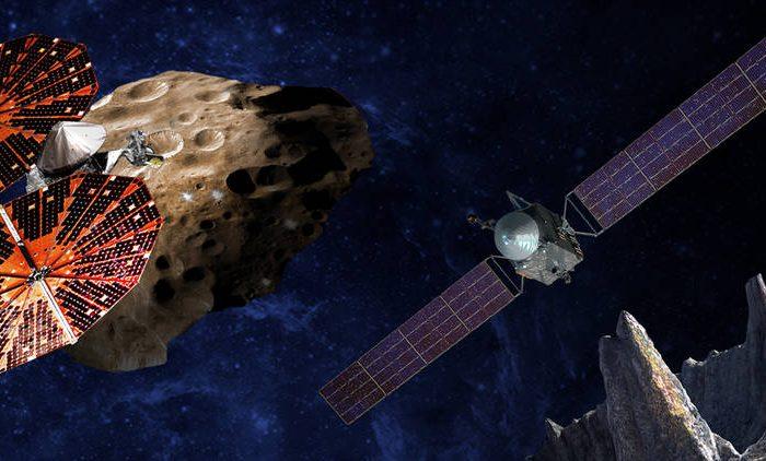 НАСА избра да изстреля две мисии до астероиди през 2021 и 2023 година