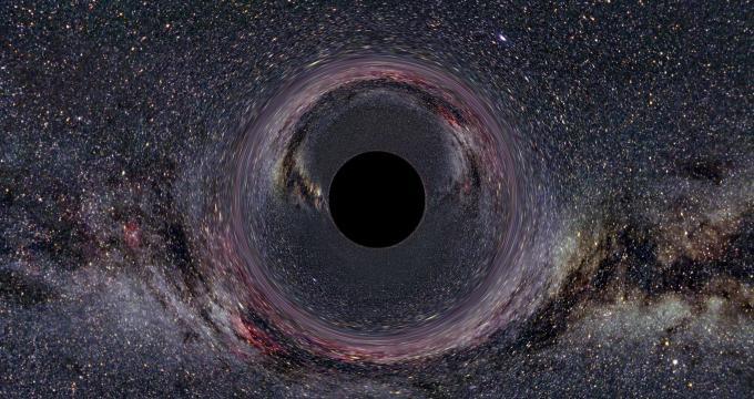 Какво ще се случи, ако попаднете в черна дупка?