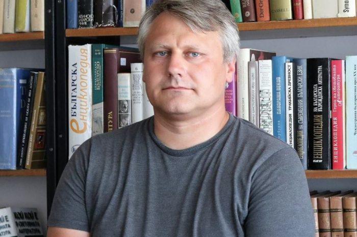 Интервю с Иван Христов от Института за литература към БАН