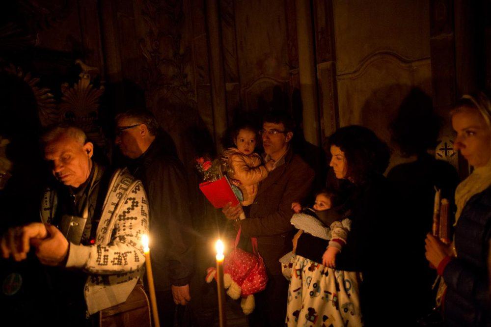 Гробницата на Иисус се счита за най-святото място за християнството.