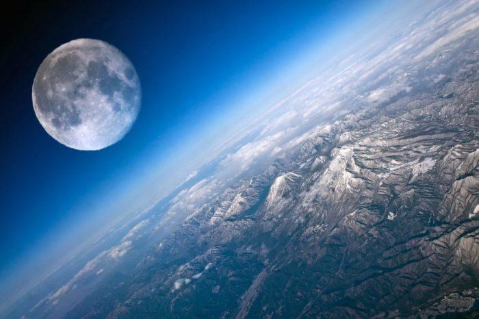 Соларен вятър изпраща кислород от Земята върху повърхността на Луната