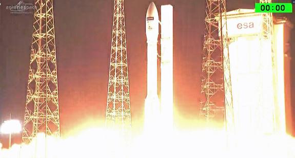 Европейската ракета Вега изведе в орбита спътника Sentinel-2B!