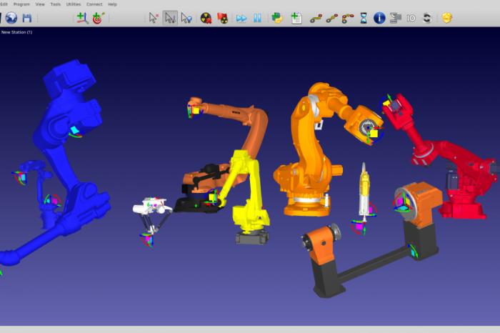 Откриване на OLP процесно-изчислителна лаборатория по индустриална роботика в ТУ Габрово