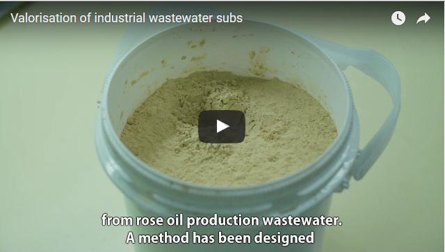 ВИДЕО: Оползотворяване на биологично активни вещества от отпадни води от индустриално производство на розово масло