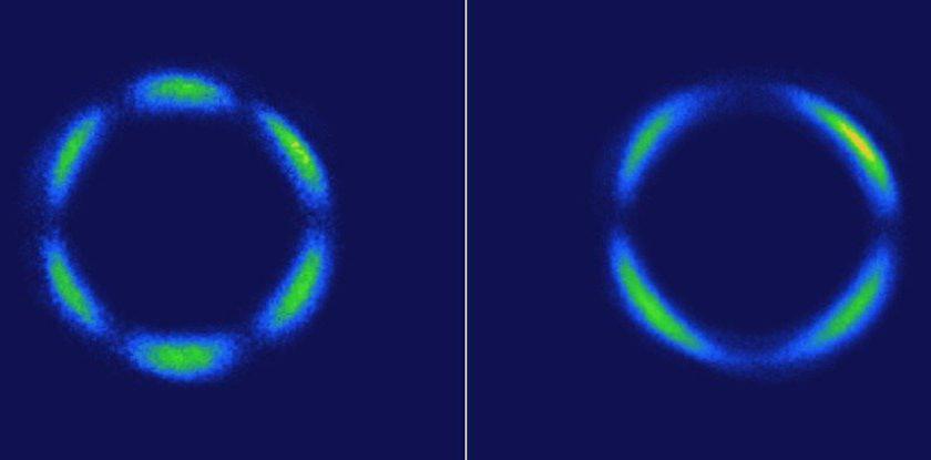 Ново квантово състояние на материята Credit: Hsieh Lab/Caltech