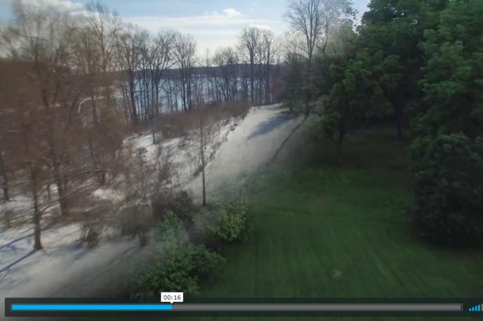 Видео показва 8 етапа от смяната на сезоните и промяна на природата