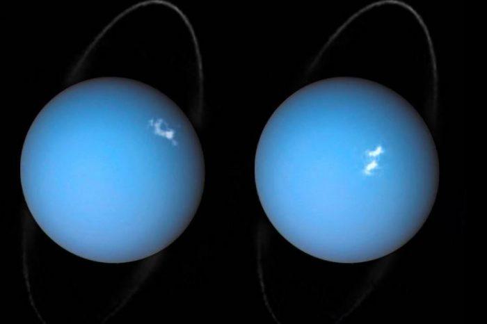 Сиянията на Уран