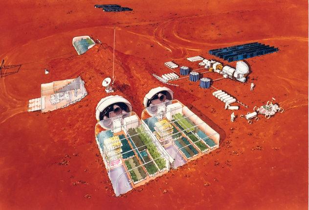 Колонизирането на Марс зависи от три технологии от ново поколение