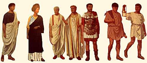 Римското облекло