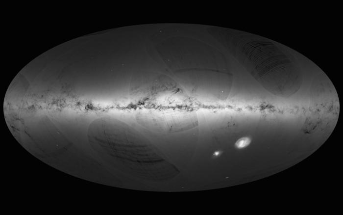 Първата небесна карта на Гая. ЕКА