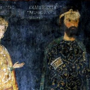 Стенопис, Боянска църква