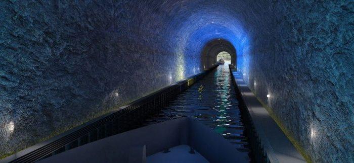 Норвегия строи най-големия в света тунел за кораби