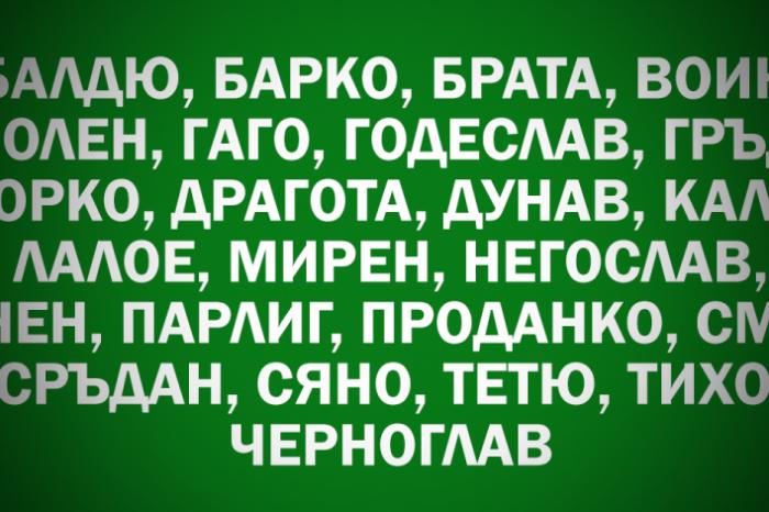 Имената на българите във Второто Българско царство