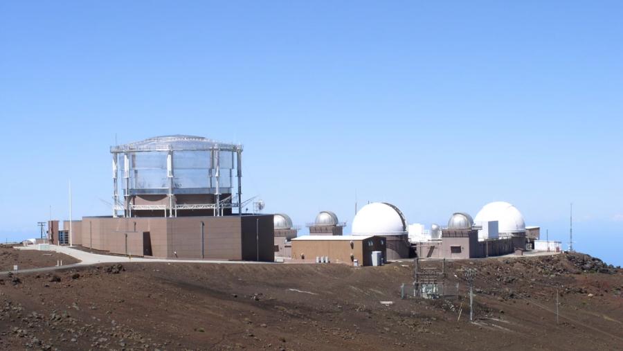 Обсерваторията в Хавай, където е направено първото наблюдение на A/2017 U1.