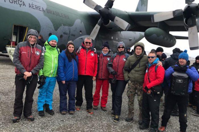 Групата на проф. Христо Пимпирев достигна Антарктида