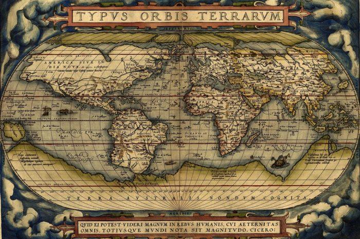 Непознатата Южна земя (История на картите на Антарктида). Част I