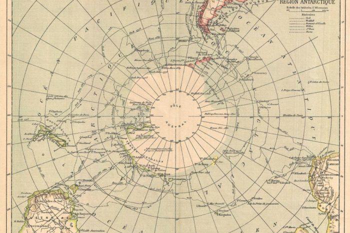 Непознатата Южна земя (История на картите на Антарктида). Част II
