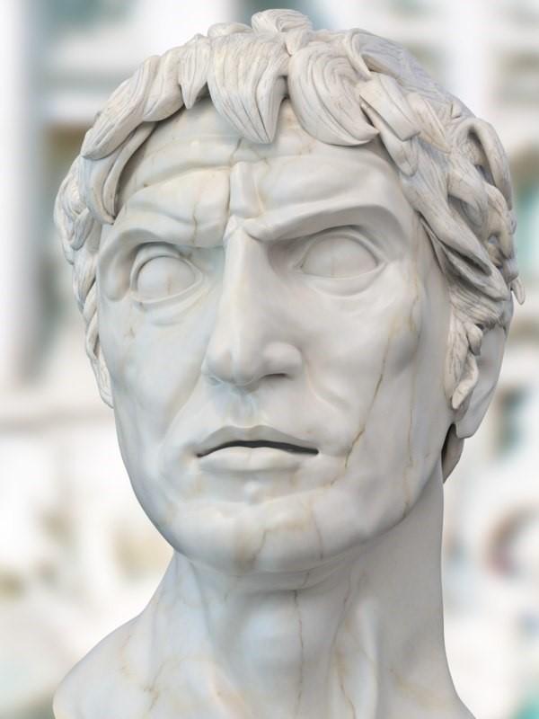 Фигура 7. Сула при Херонея. След блестящата победа над Архелай Сула е провъзгласен за император.